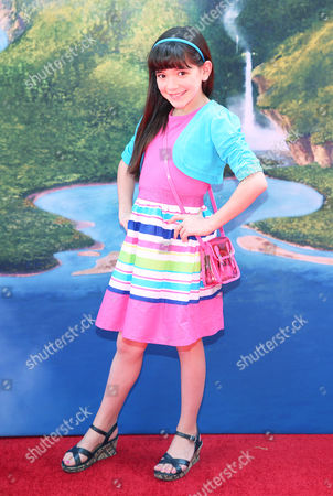 "Chloe Noelle arrives at LA Premiere of ""The Pirate Fairy"" on in Burbank, Calif"