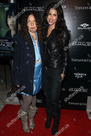 "Stock Image of Producer Tatiana von Furstenberg (L) and director Francesca Gregorini arrivesat the Los Angeles premiere of ""The Truth About Emanuel"" at ArcLight Hollywood on"