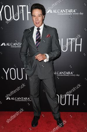 """Fernando Allende arrives at the LA Premiere of """"Youth"""" held at the DGA Theater, in Los Angeles"""