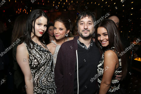 """Rachel Korine, Ashley Benson, Director Harmony Korine and Vanessa Hudgens at the LA premiere of """"Spring Breakers"""" at the ArcLight Hollywood on in Los Angeles"""