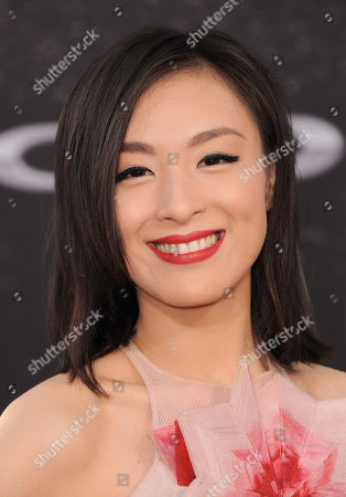 """Stock Image of Sarah Li arrives at the LA Premiere of the """"Fast & Furious 6"""" at the Gibson Amphitheatre on in Universal City, Calif"""