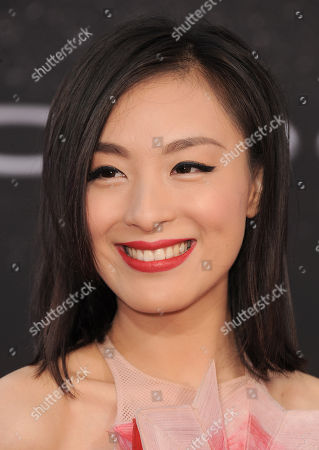 """Stock Photo of Sarah Li arrives at the LA Premiere of the """"Fast & Furious 6"""" at the Gibson Amphitheatre on in Universal City, Calif"""