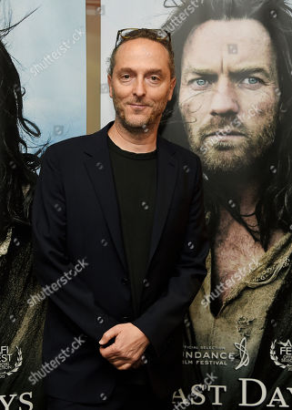 """Stock Image of Emmanuel Lubezki, cinematographer of """"Last Days in the Desert,"""" poses at a special screening of the film at Laemmle's Royal Theatre, in Los Angeles"""