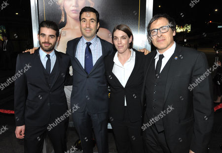 "Matthew Budman, Jonathan Gordon, Megan Ellison, and David O. Russell attend the LA special screening of ""American Hustle"", on in Los Angeles"