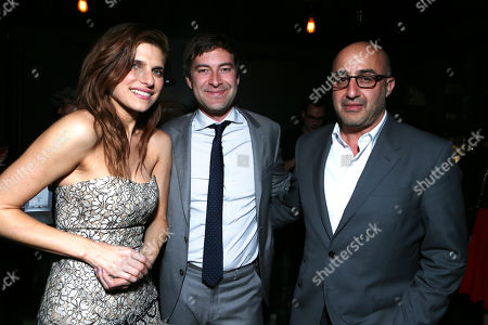 Lake Bell, Executive Producer/Screenwriter Mark Duplass, LD Entertainment's David Dinerstein at the LD Entertainment Special Screening of Black Rock, on Wednesday, May, 8, 2013 in Los Angeles