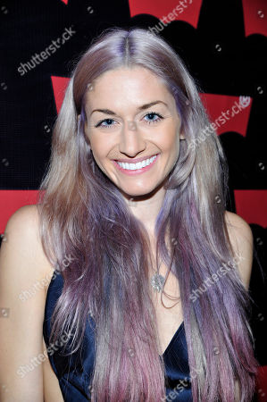Stock Photo of Gabrielle Wortman seen at Levi's Pre-Grammy Party with Private Performance by Miguel, on in Los Angeles