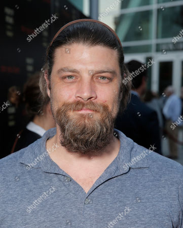 Jay Ferguson attends the premiere of 'Are You Here' at ArcLight Hollywood on in Hollywood, California