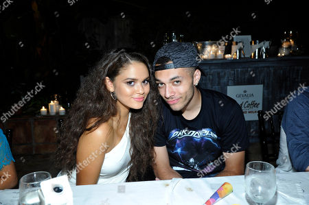 Madison Pettis and Kalin White seen at Madison Pettis Celebrates her 17th Birthday at the Kia Beach House presented by Cargo Cosmetics, in Malibu, Calif