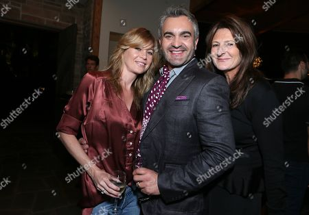"""Ellen Pompeo, Martyn Lawrence Bullard and Catherine Ireland attend at the """"Magic City"""" season 2 premiere after party, in Los Angeles"""