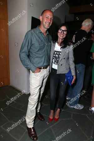 """Stock Image of Alex and Magda Berliner attend at the """"Magic City"""" season 2 premiere after party, in Los Angeles"""