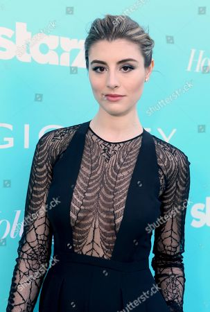"Dominik Garcia-Lorido arrives at the ""Magic City"" season 2 premiere at the American Film Institute, in Los Angeles"