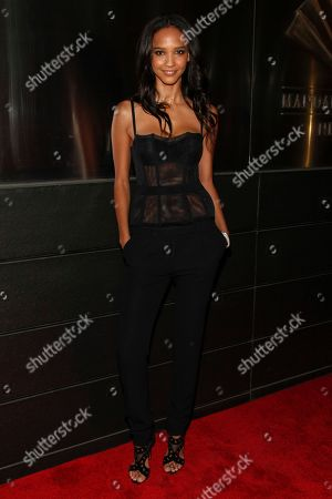 Cora Emmanuel attends the New Yorkers For Children Spring Dinner Dance at the Mandarin Oriental, in New York
