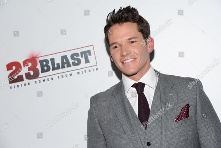 """Actor Mark Hapka attends the premiere of """"23Blast"""" at the Regal Cinemas E-Walk Theater, in New York"""