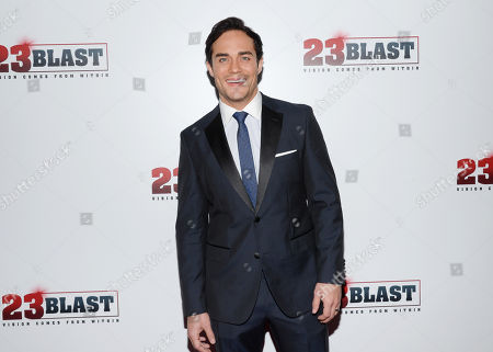"Editorial image of NY Premiere of ""23Blast"", New York, USA - 20 Oct 2014"