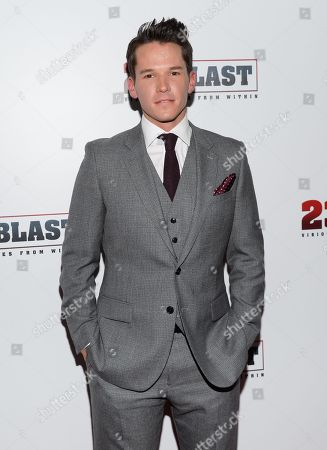 """Mark Hapka attends the premiere of """"23Blast"""" at the Regal Cinemas E-Walk Theater on in New York"""