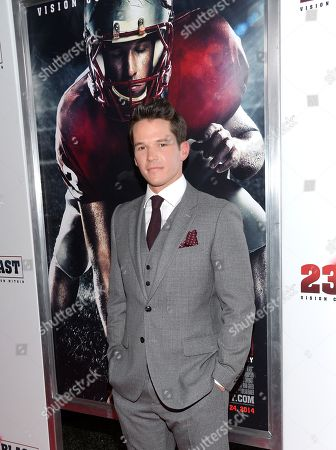 """Editorial image of NY Premiere of """"23Blast"""", New York, USA - 20 Oct 2014"""