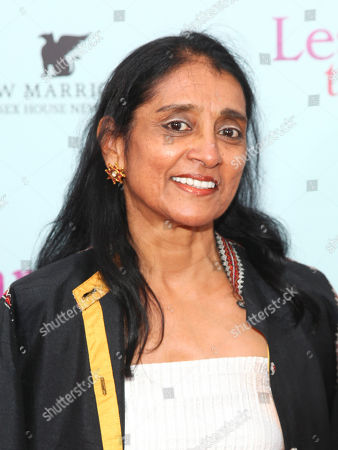 "Stock Image of Rajika Puri attends the premiere for ""Learning To Drive"" at The Paris Theatre, in New York"