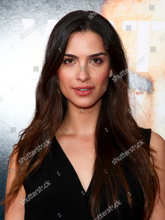 """Natalia Beber attends the premiere of """"Roger Waters The Wall"""" at the Ziegfeld Theatre, in New York"""