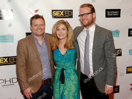 "Editorial photo of NY Premiere of ""Sex Ed"", New York, USA - 7 Nov 2014"