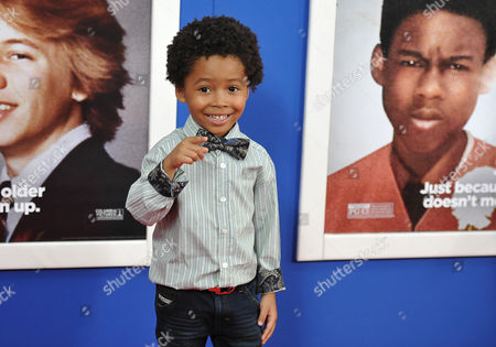 """Stock Picture of Actor Kaleo Elam attends the premiere of """"Grown Ups 2"""" at the AMC Loews Lincoln Square on in New York"""