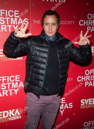 """Pauly Shore attends a screening of """"Office Christmas Party"""", hosted by Paramount Pictures and The Cinema Society, at the Landmark Sunshine Cinema, in New York"""