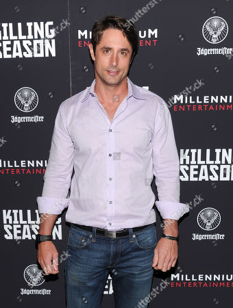 """Prince Lorenzo Borghese attends a special screening of """"Killing Season"""" hosted by Jagermeister at the Sunshine Landmark Theater on in New York"""