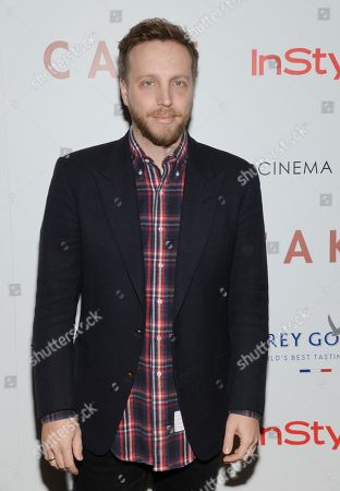 "Instyle editor-in-chief Ariel Foxman attends a special screening of ""Cake"", hosted by the Cinema Society, Instyle and Grey Goose, at the Tribeca Grand Hotel, in New York"