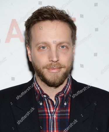 """Instyle editor-in-chief Ariel Foxman attends a special screening of """"Cake"""", hosted by the Cinema Society, Instyle and Grey Goose, at the Tribeca Grand Hotel, in New York"""
