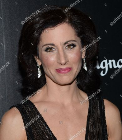 """Author Lisa Genova attends a special screening of """"Still Alice"""" at the Landmark Sunshine Cinema and Montblanc, in New York"""