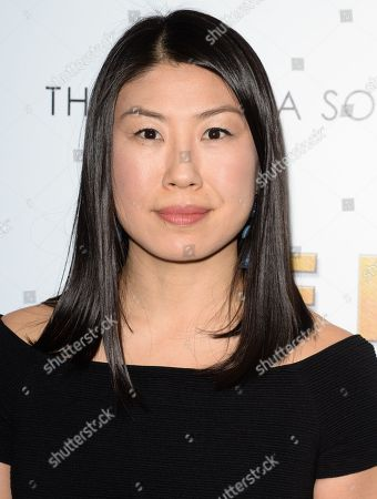 "Self Editor-in-Chief Joyce Chang attends a special screening of ""The Bronze"" at Metrograph, in New York"