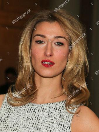 Stock Image of Lauren Remington Platt attends the Carolina Herrera NYFW Fall/Winter 2016 fashion show at The Frick Collection, in New York