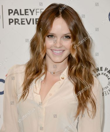 """Rebecca Breeds arrives at the PaleyFest Previews: Fall TV show """"We Are Men"""" at The Paley Center for Media on in Beverly Hills, Calif"""