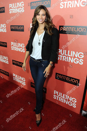 """Argelia Atilano arrives at Pantelion Films' """"Pulling Strings"""" Los Angeles premiere at Regal Cinemas L.A. Live on in Los Angeles"""