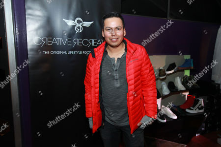 Stock Picture of Jeremiah Bitsui is seen at PCL Day Lounge Day 3 on in Park City, Utah