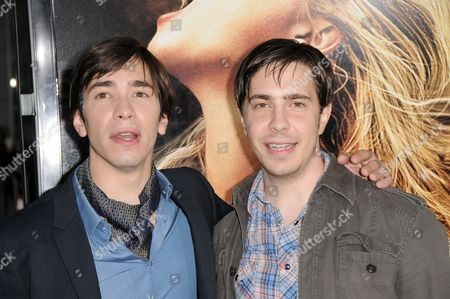 Stock Image of Justin Long and Christian Long