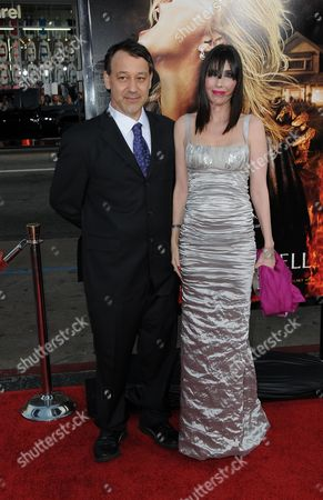 Sam Raimi and wife Gillian Greene