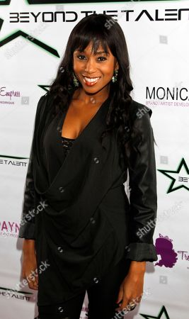 """Actress Zee James seen at Private Screening of """"Beyond the Talent"""", on at Smoke & Mirrors in West Hollywood. California"""