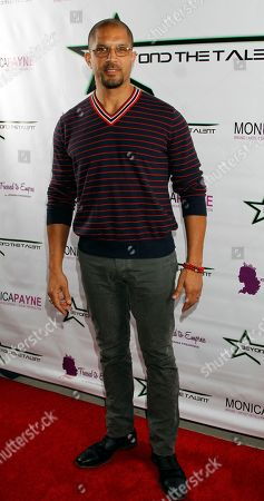 """Actor Terrell Tilford seen at Private Screening of """"Beyond the Talent"""", on at Smoke & Mirrors in West Hollywood. California"""