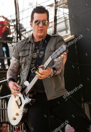 Keith Nelson of Buckcherry performs at Rock on the Range on in Columbus, Ohio