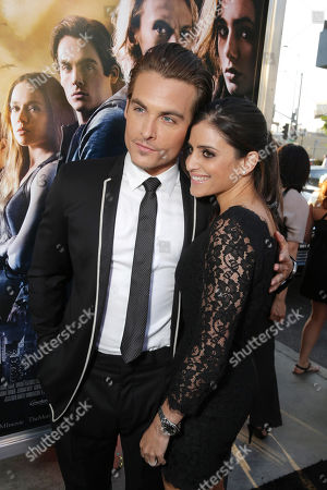 Kevin Zegers and Jaime Feld seen at Screen Gems 'The Mortal Instruments: City of Bones' Los Angeles Premiere, on Monday, August, 12, 2013 in Los Angeles