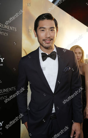 Godfrey Gao seen at Screen Gems 'The Mortal Instruments: City of Bones' Los Angeles Premiere, on Monday, August, 12, 2013 in Los Angeles