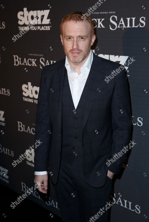 """Creator Jonathan E. Steinberg arrives at the Starz """"Black Sails"""" Premiere on in Los Angeles"""