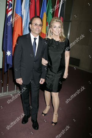 Stock Picture of Ross Bleckner and Eleanor Kennedy