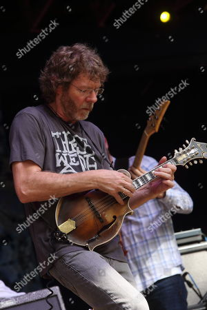Sam Bush performs at the Suwannee Springfest at the Spirit of Suwannee Music Park, on in Live Oak, Florida