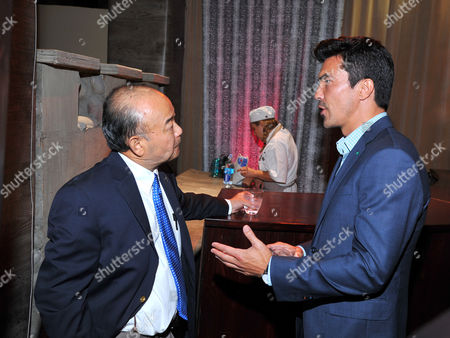 Clyde Kusatsu, left, and Ian Anthony Dale seen at the Television Academy's 66th Emmy Awards Dynamic and Diverse Nominee Reception at the Television Academy, in the NoHo Arts District in Los Angeles
