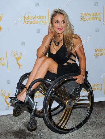 Stock Image of Tiphany Adams arrives at the Television Academy's 66th Emmy Awards Writers Nominee Reception on at the Television Academy in the NoHo Arts District of Los Angeles
