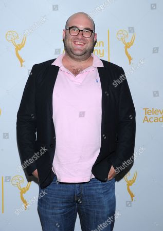 Charlie Sanders arrives at the Television Academy's 66th Emmy Awards Writers Nominee Reception on at the Television Academy in the NoHo Arts District of Los Angeles
