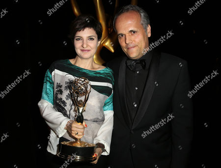 Editorial picture of Television Academy's 2015 Creative Arts Emmy Awards - Thank You Cam, Los Angeles, USA - 12 Sep 2015