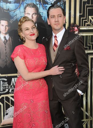 """Stock Photo of Actress Kate Mulvany and guest attend """"The Great Gatsby"""" world premiere at Avery Fisher Hall on in New York"""