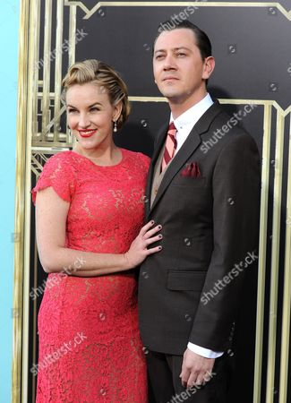 """Actress Kate Mulvany and guest attend """"The Great Gatsby"""" world premiere at Avery Fisher Hall on in New York"""